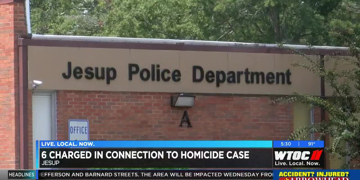 Multiple people charged in connection to Jesup homicide case