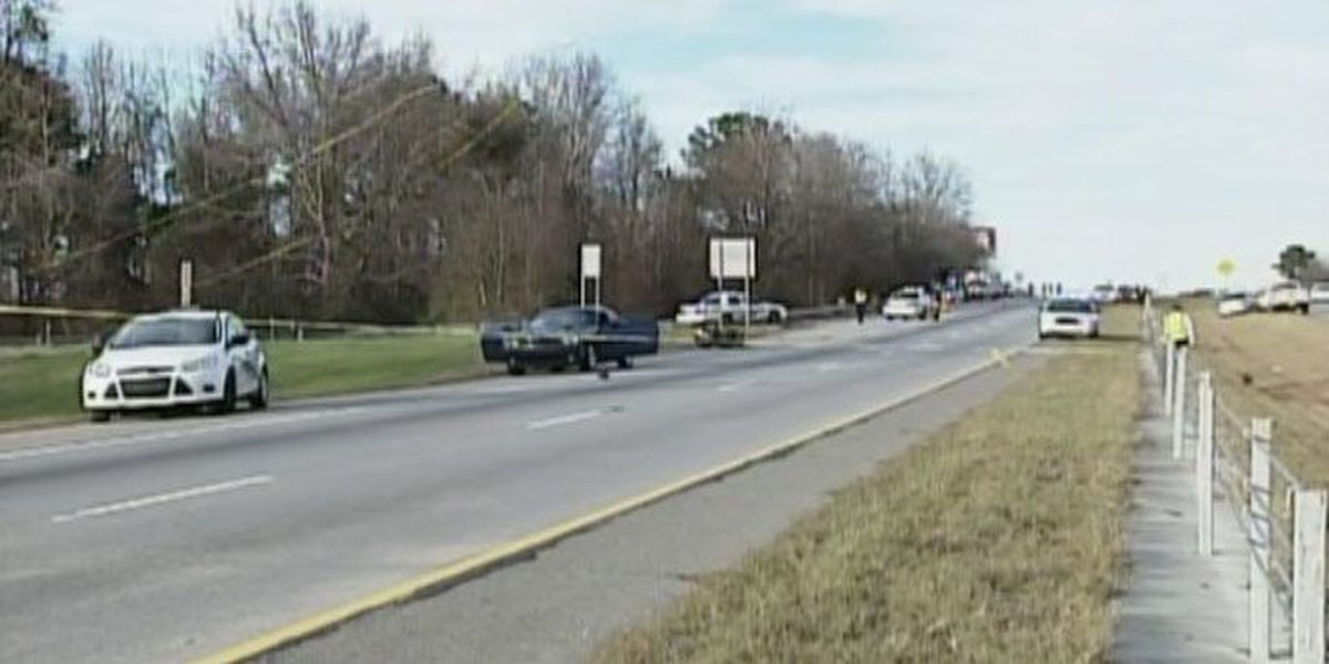 I-516 reopens after wreck