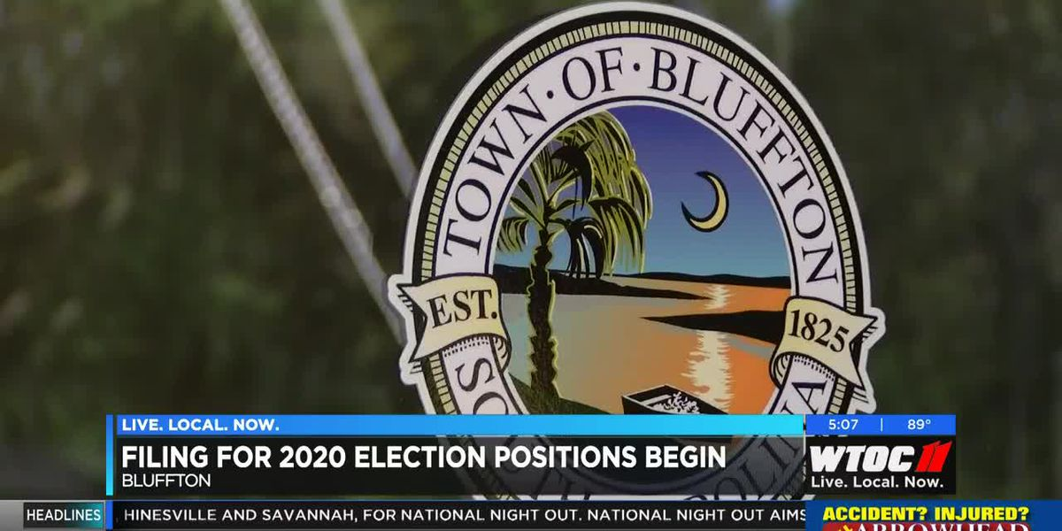 Filing for 2020 election positions begins in Bluffton