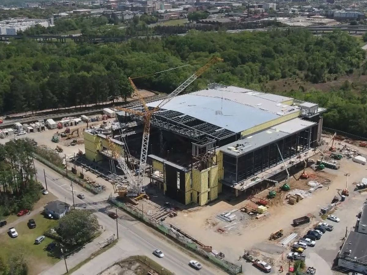 City gives progress update on construction of Savannah's new arena
