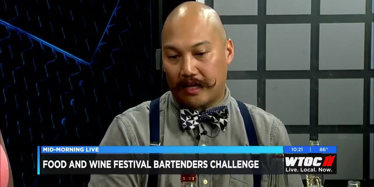 Food and Wine Festival Bartenders Challenge