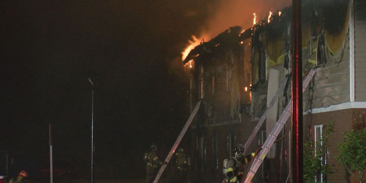 Pembroke apartment building destroyed by fire