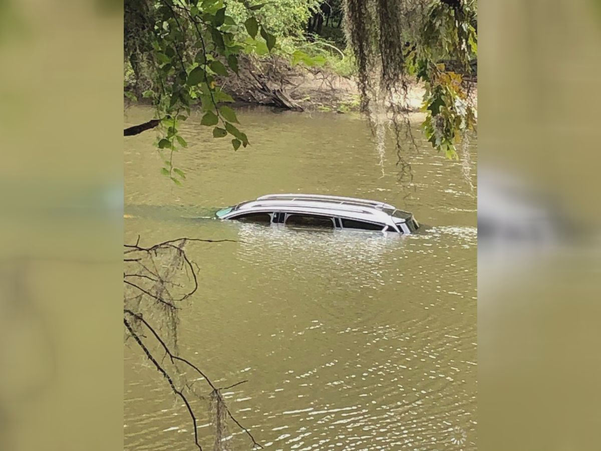 Stolen SUV found in the Ogeechee River