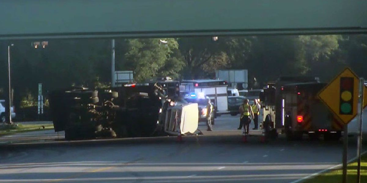 All lanes of Hwy 170 reopened in Beaufort County following crash near US 278 overpass