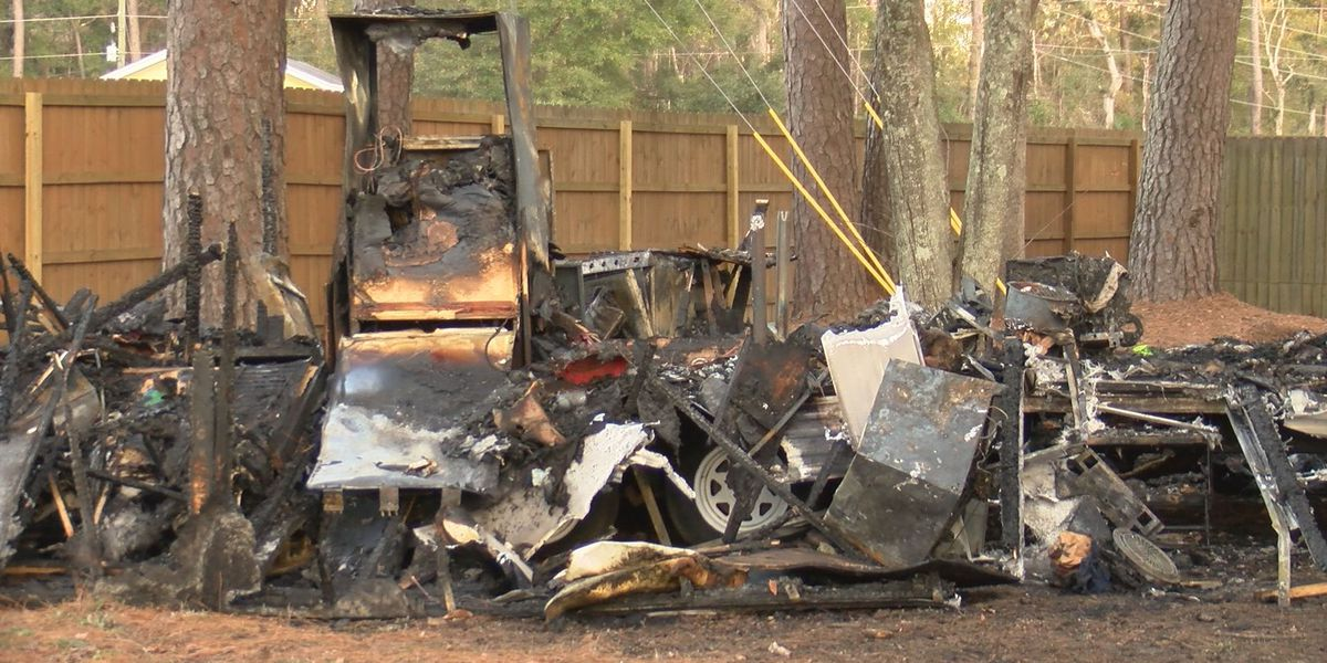 Victim died from smoke inhalation, thermal injuries in trailer home fire in Beaufort Co.