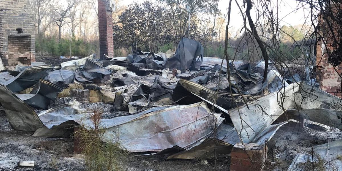 SC house where body was discovered in freezer now burned to the ground