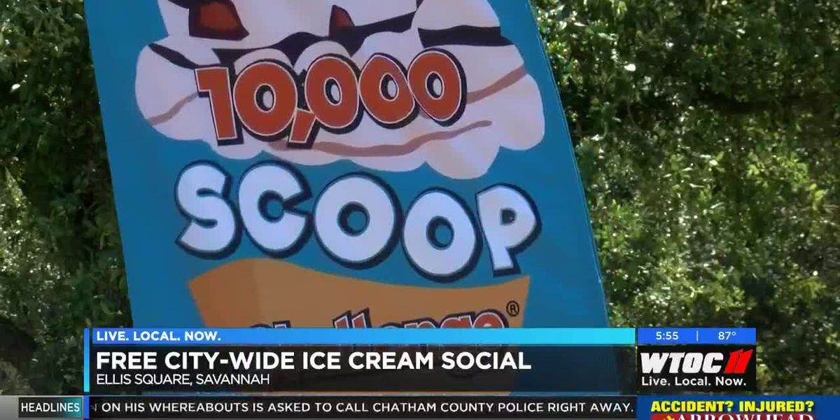 Free ice cream social in Savannah to benefit the Salvation Army