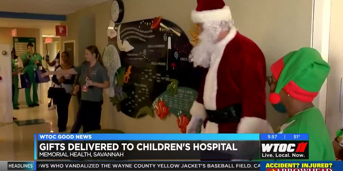 Good News: Gifts delivered to Children's Hospital