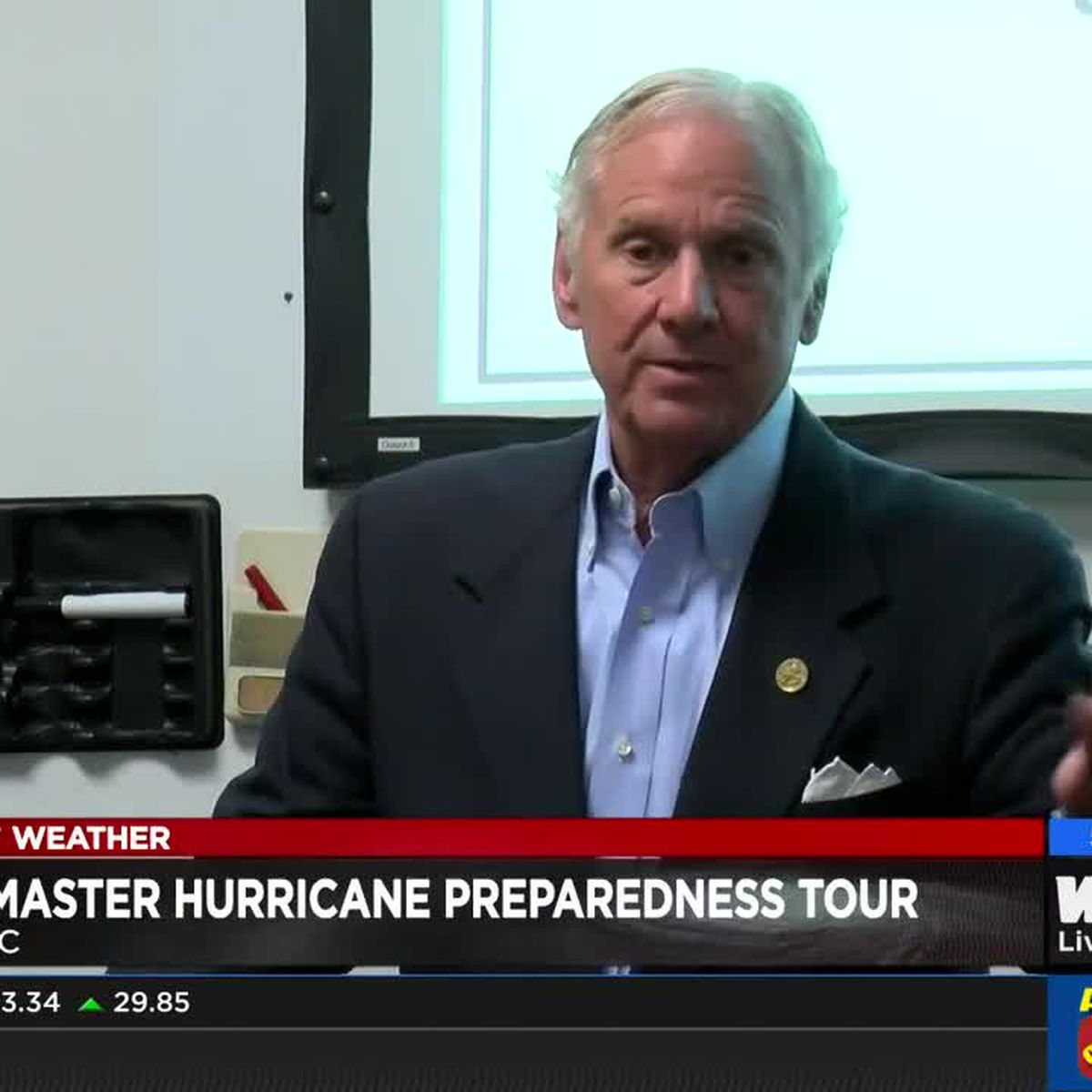 Gov. McMaster wraps up hurricane preparedness tour