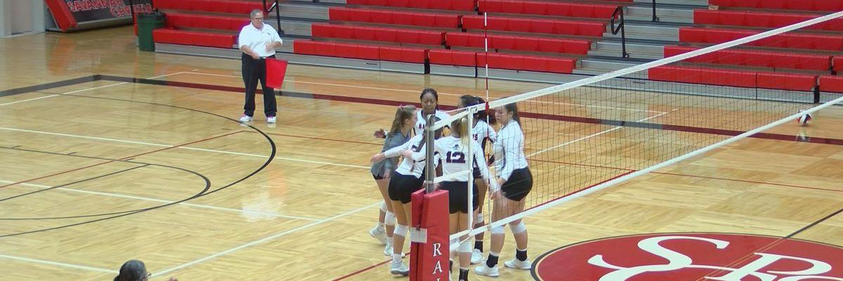 High school volleyball state tournament underway