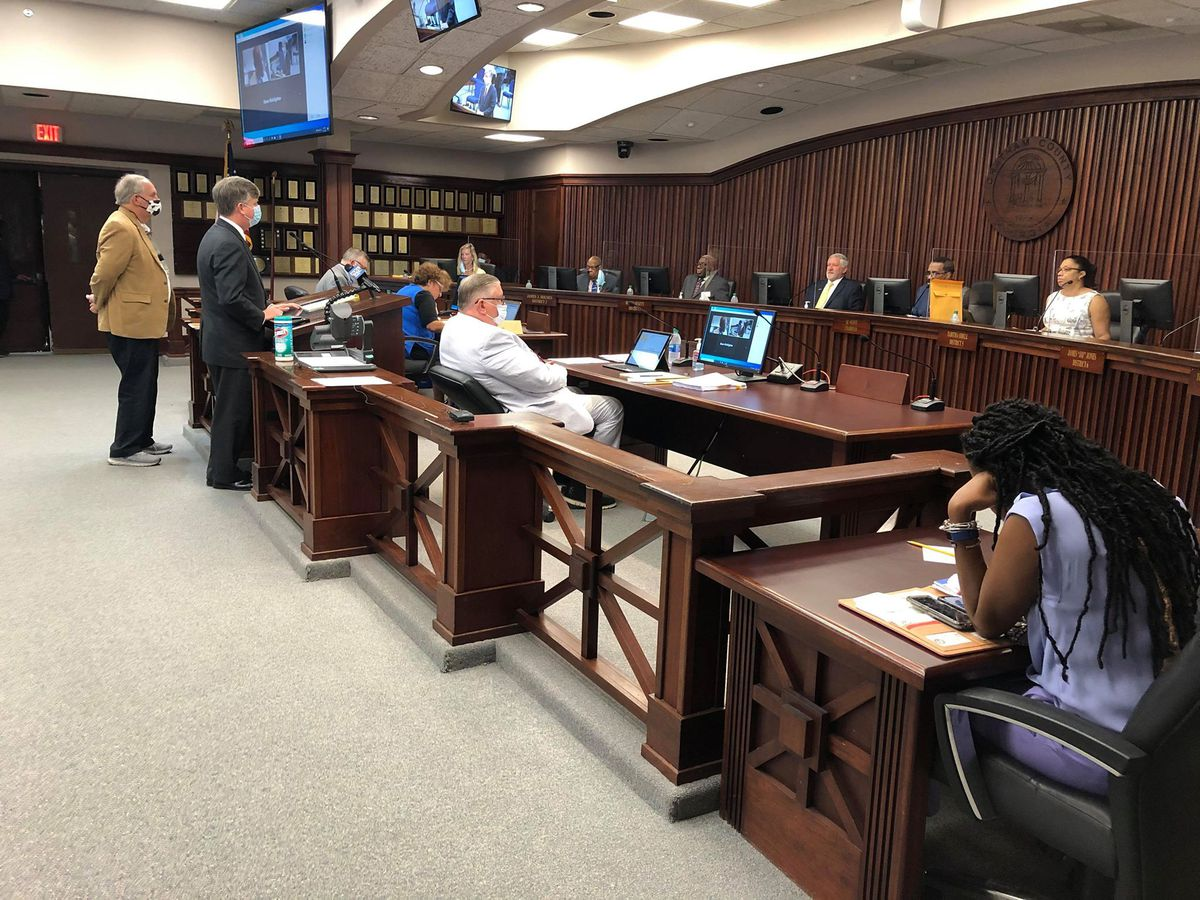 Chatham County Board of Elections discusses process before Chatham County Commissioners