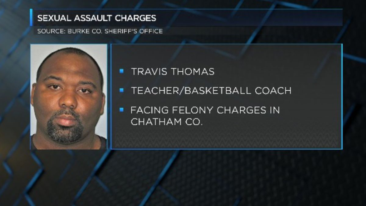 Burke County teacher charged with sexual battery also facing charges in Chatham County