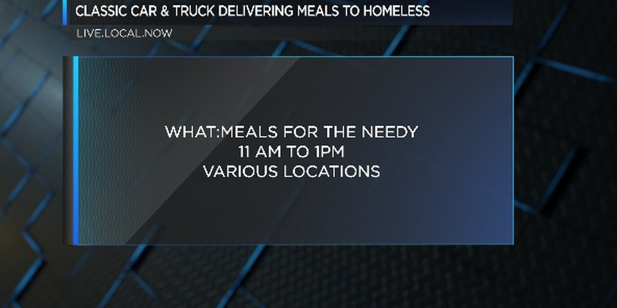 Classic Car & Truck to deliver meals to homeless in Beaufort