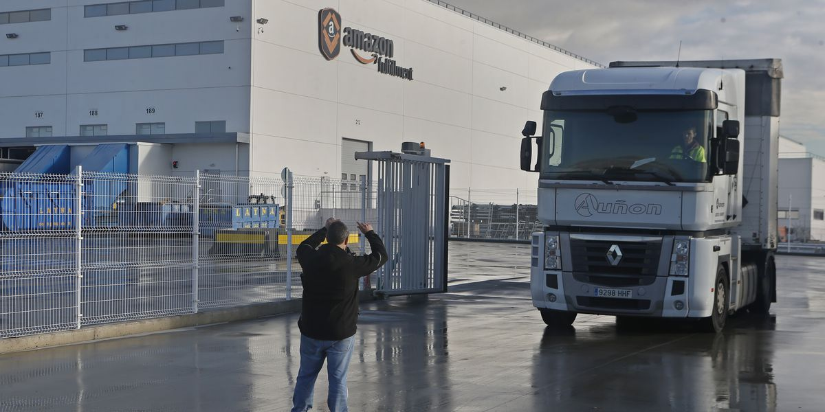 Amazon workers in Europe protest 'inhuman' working conditions