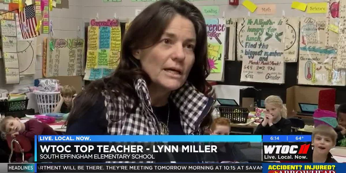 Top Teacher: Lynn Miller, South Effingham Elementary