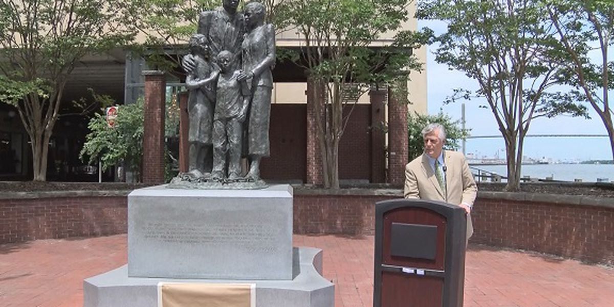 Addition added to African-American monument on River Street