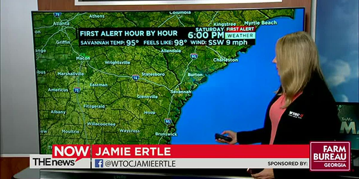 This weekend's gonna be a hot one! Jamie's got your First Alert Forecast on The News Now.
