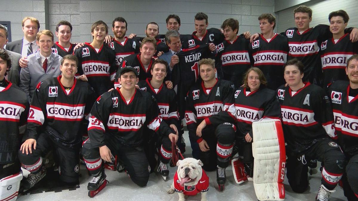 Dawgs win the Thrasher Cup, Savannah Hockey Classic
