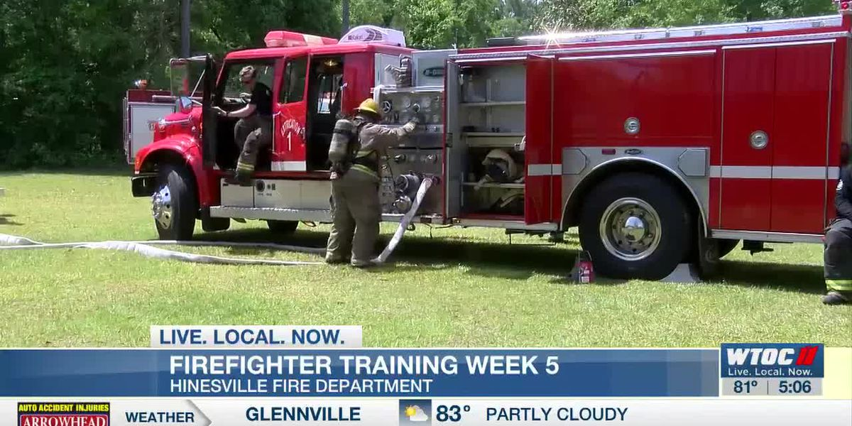 Hinesville Fire continues training for new recruits