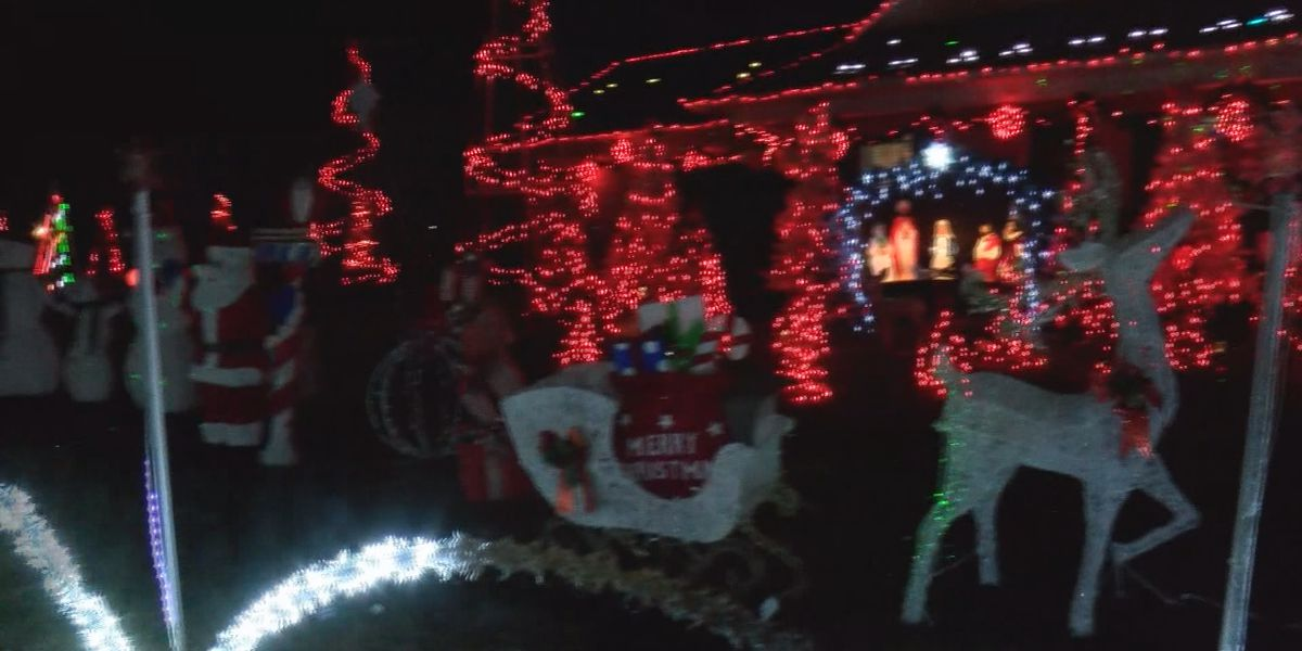 Family brings joy to Lowcountry with lights display