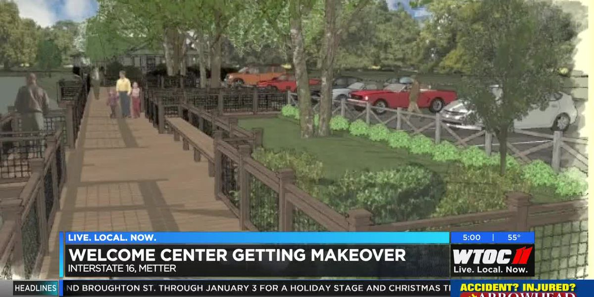 City of Metter upgrading Welcome Center