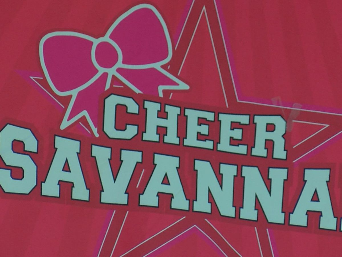 Cheer gym celebrates reopening