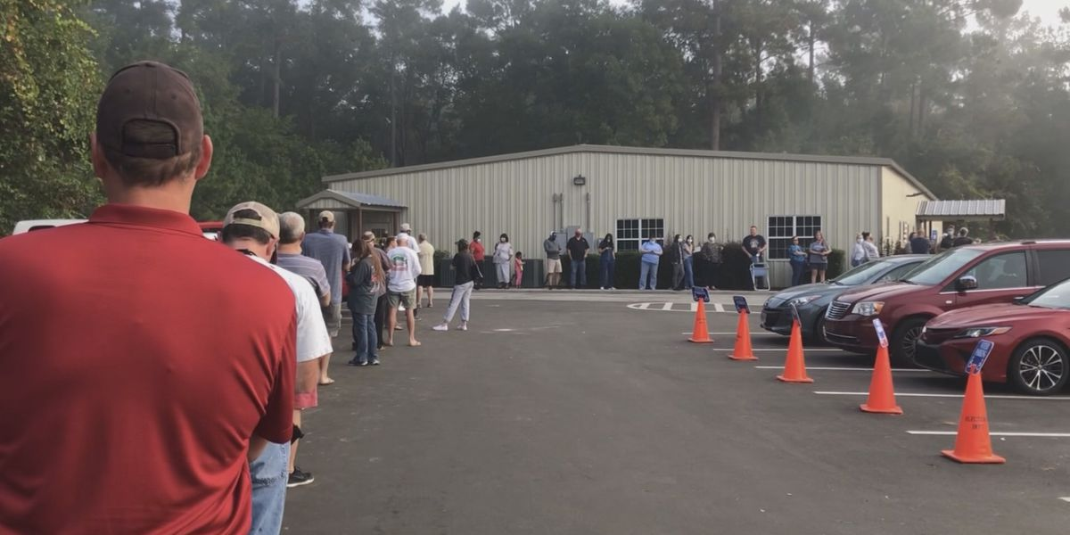 Residents head to the polls for early voting