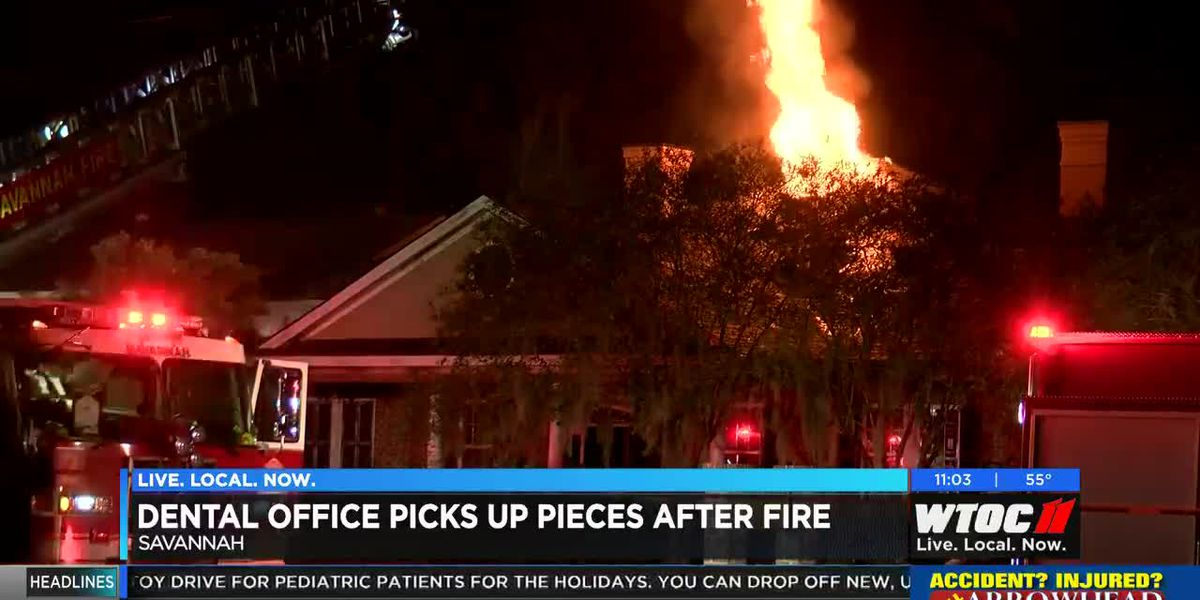 Savannah Fire responds to natural gas fire at dentist office