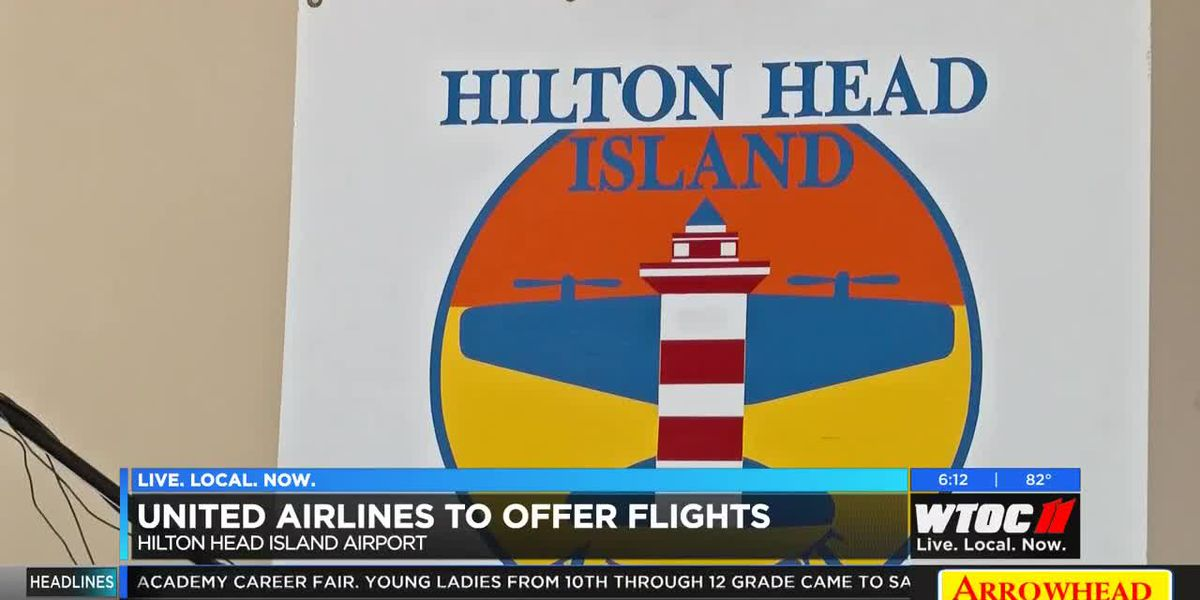 United Airlines to fly from Hilton Head Island Airport