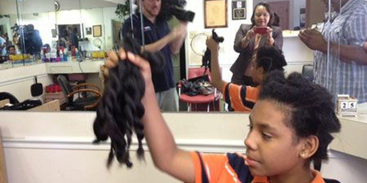 Haircut of a lifetime