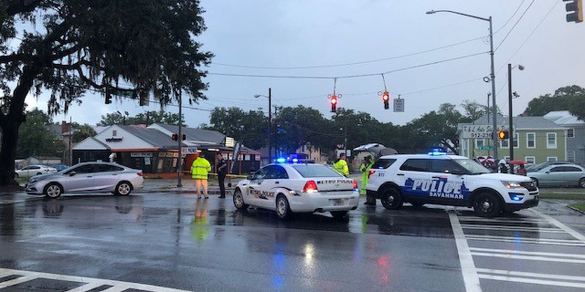 Pedestrian hit by vehicle at intersection of Montgomery, W. 37th streets