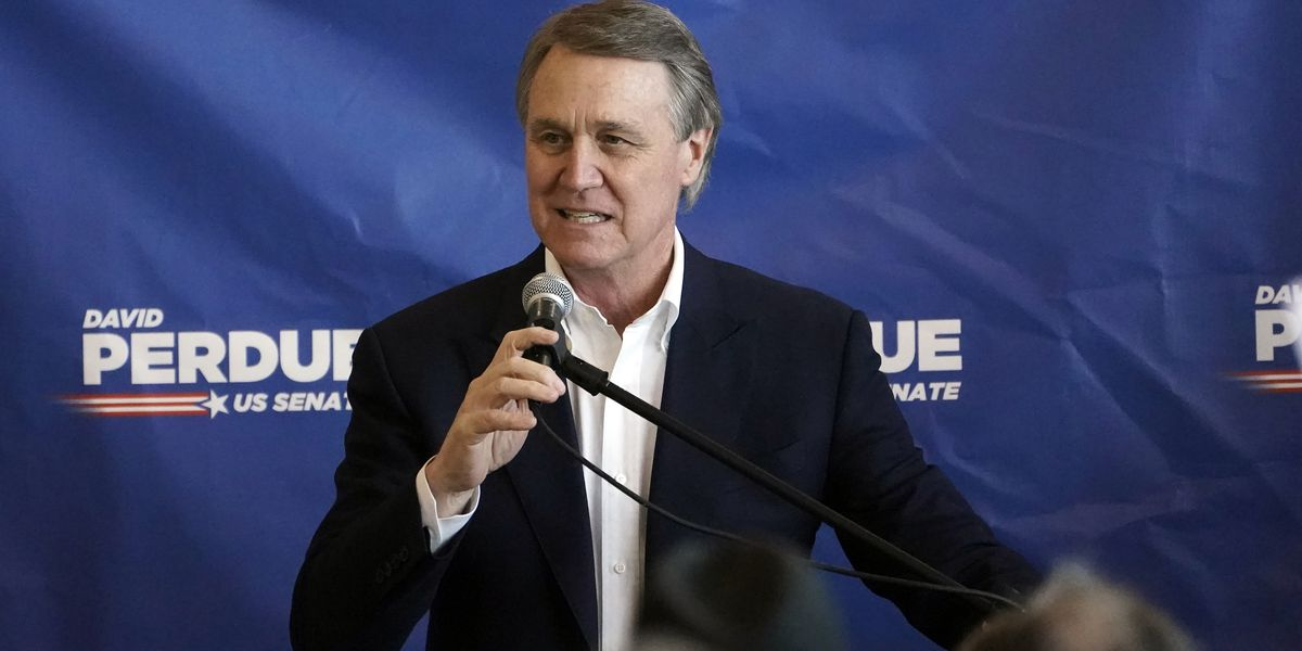 Sen. David Perdue to campaign virtually as Sen. Tim Scott makes stop in Savannah