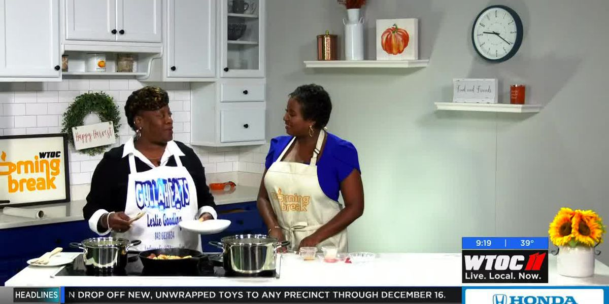 Gullah Eats cooks up traditional Shrimp & Grits