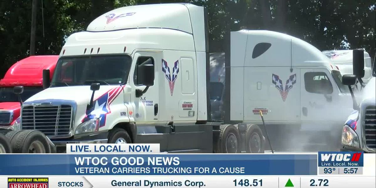 Good News: Veteran carriers trucking for a cause
