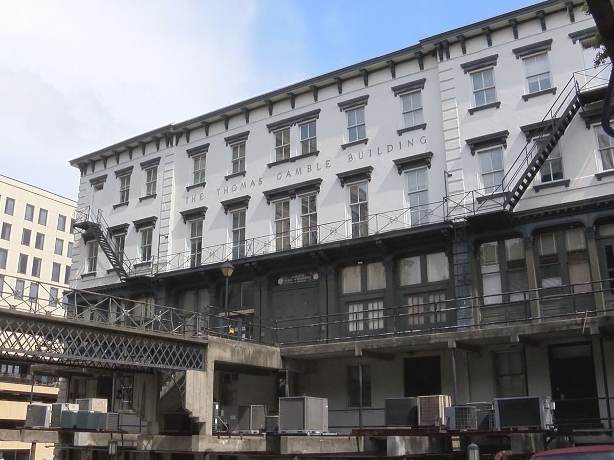 City of Savannah to keep the historic Gamble building
