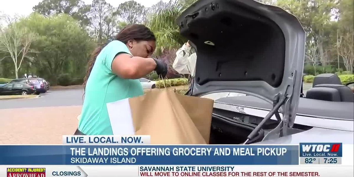 The Landings offering grocery and meal pickup