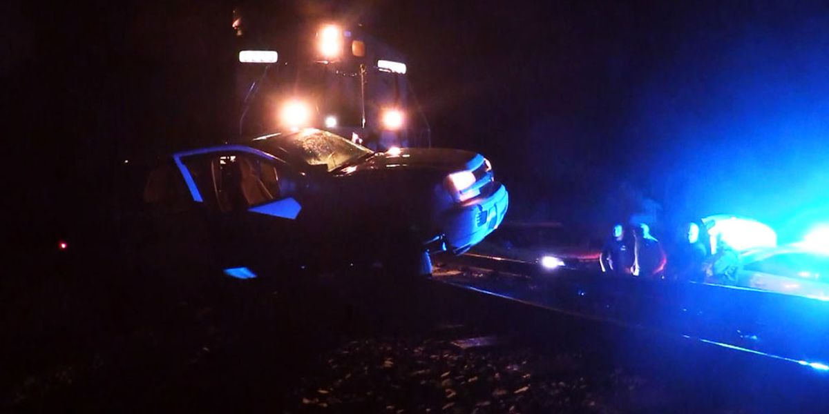 Train hits, drags SUV hundreds of feet overnight in Long County