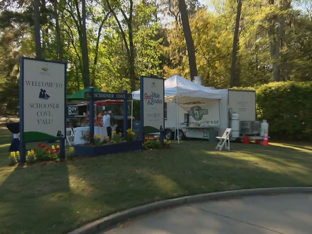 Food trucks at Schooner Cove see Savannah Golf Championship as marketing opportunity