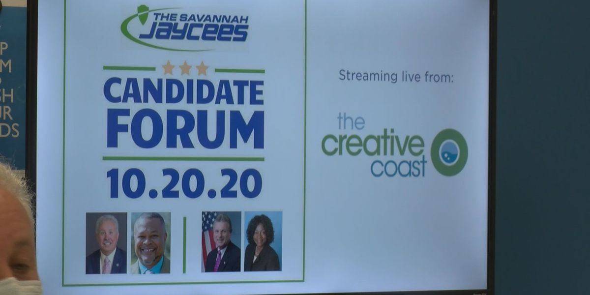 Candidates for U.S. House District One, Ga. House District 164 gather for forum