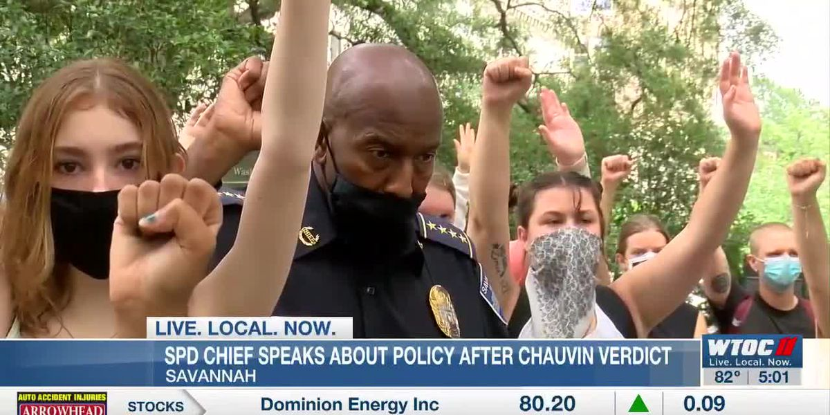 Savannah police chief committed to community policing policies