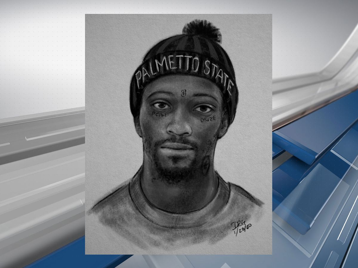 Sketch released of Hilton Head robbery suspect