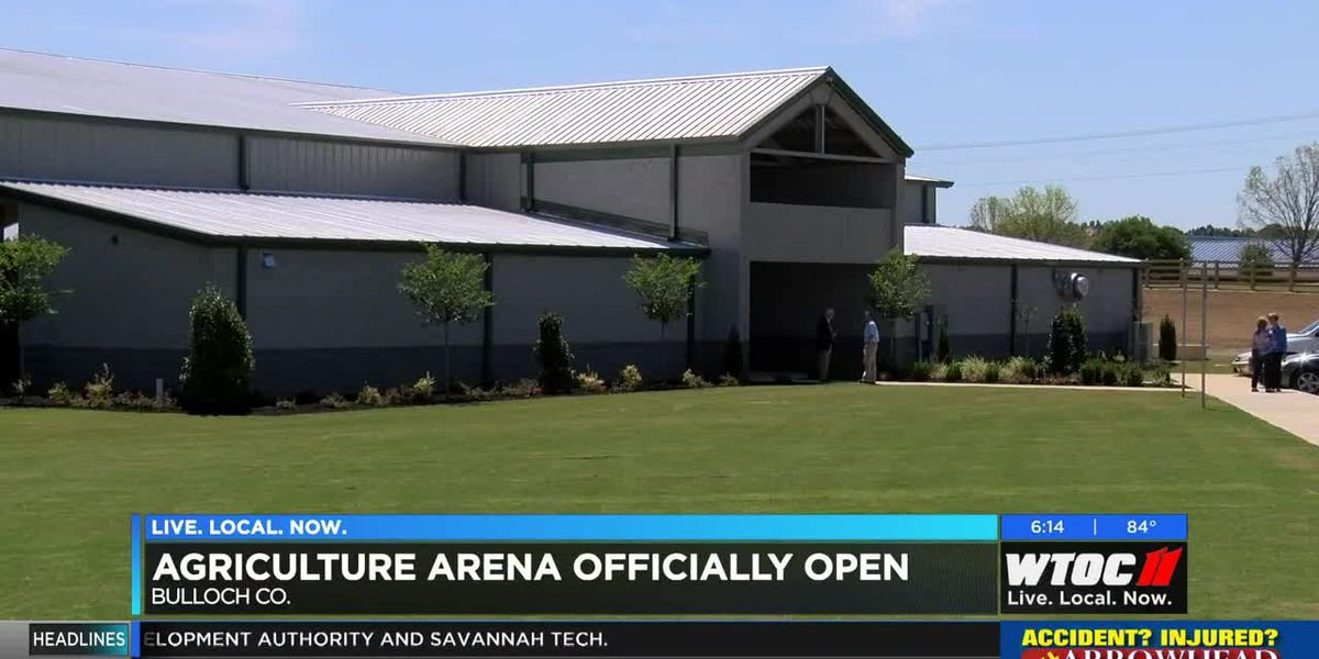Agriculture Arena officially open in Bulloch County