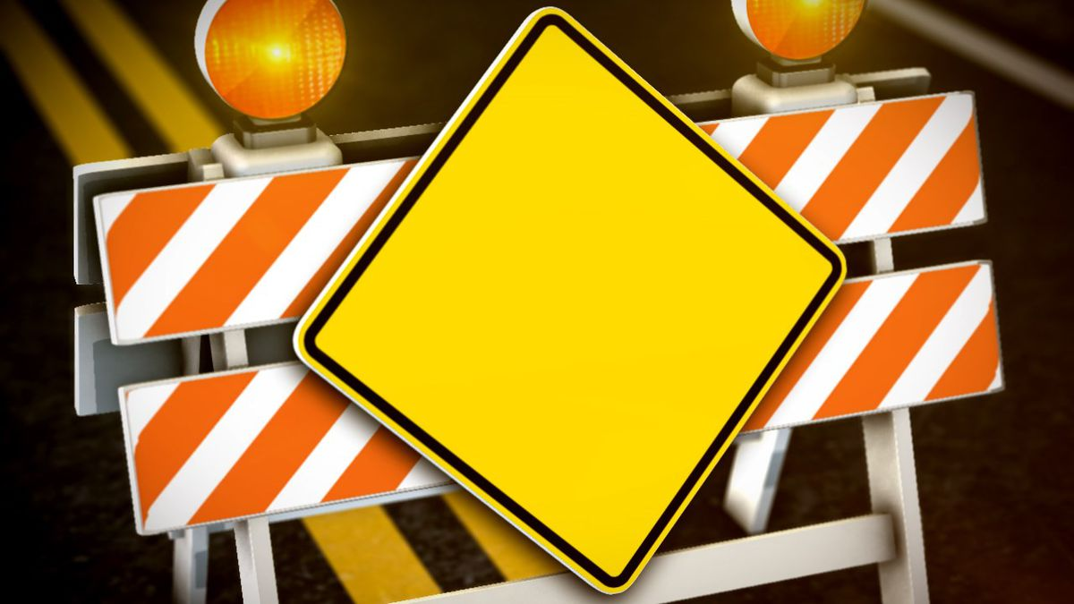 Road work could delay commutes this week