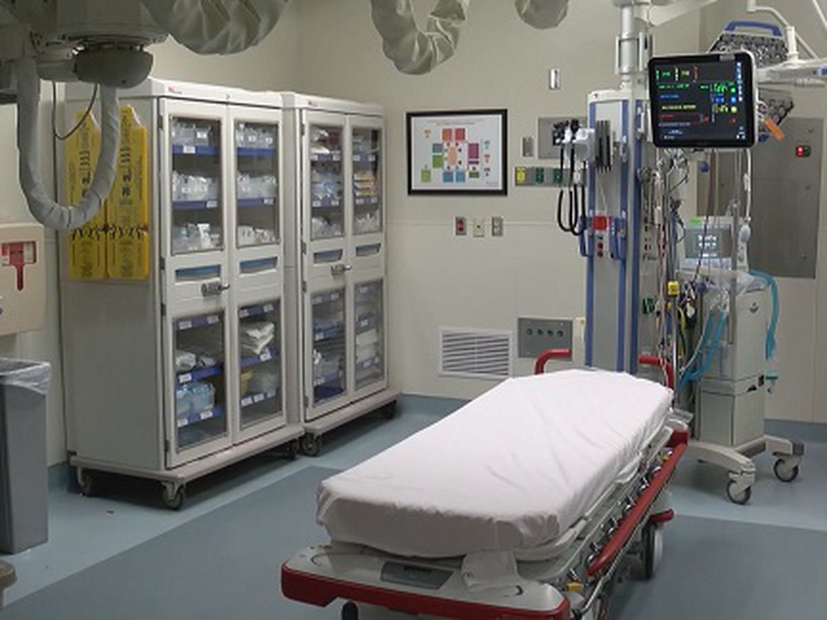 Local emergency rooms serve influx patients in hallways