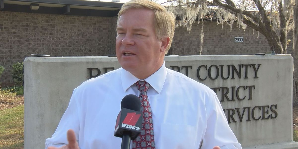 Series of community meetings with Beaufort Co. Superintendent Jeff Moss begins Thursday