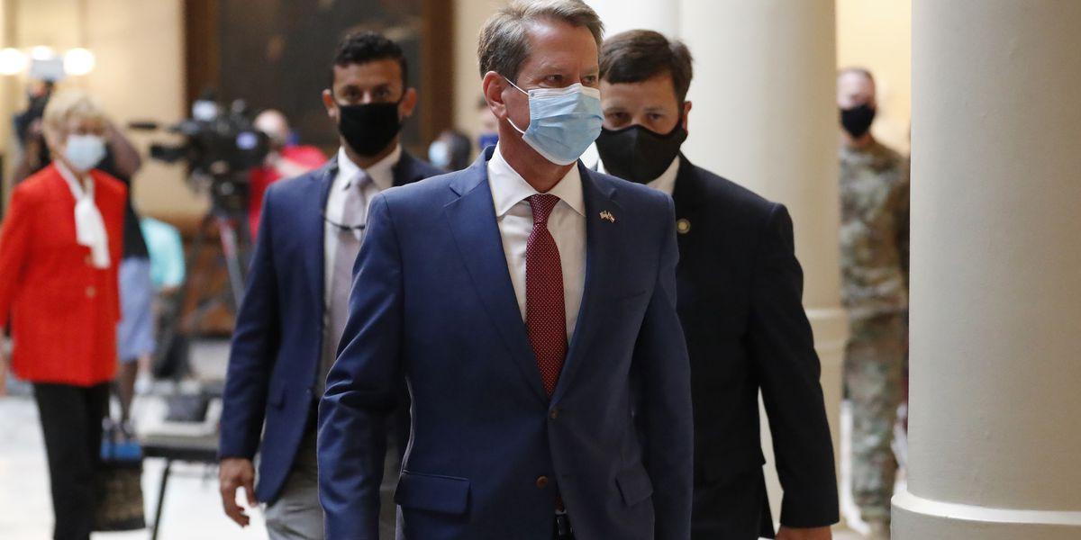 Amid Democratic wins, virus, Georgia GOP gov to talk economy