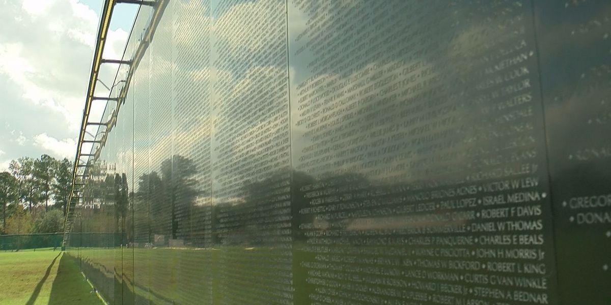 Mobile replica of Vietnam War Memorial stops in Pooler