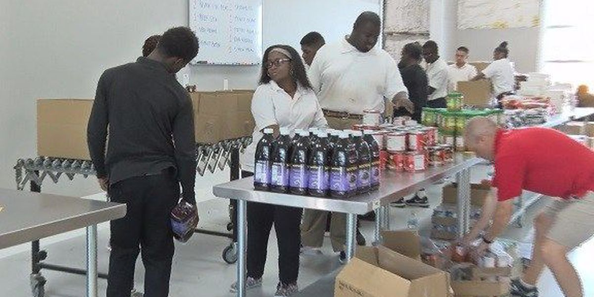 Second Harvest holds annual Pack-a-Thon ahead of Hurricane Florence