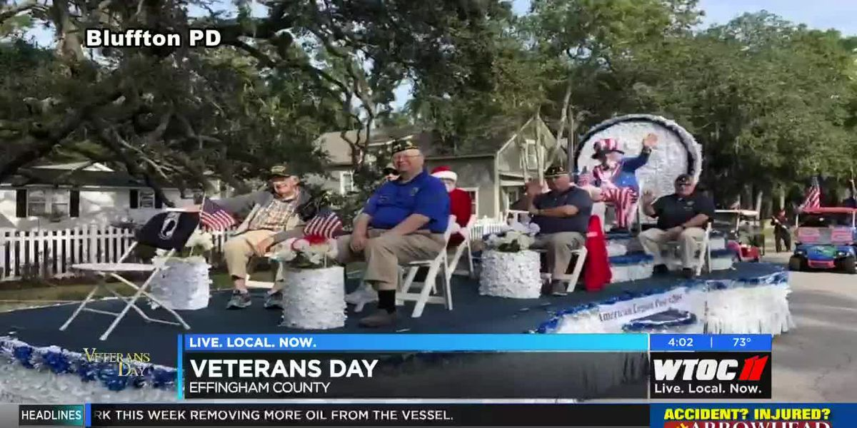 Lowcountry veterans honor fallen soldiers
