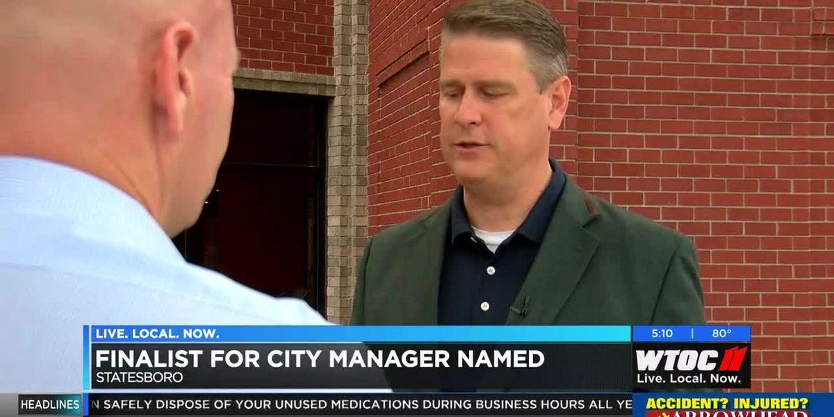 Finalist named for new Statesboro city manager